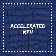 accelerated mph